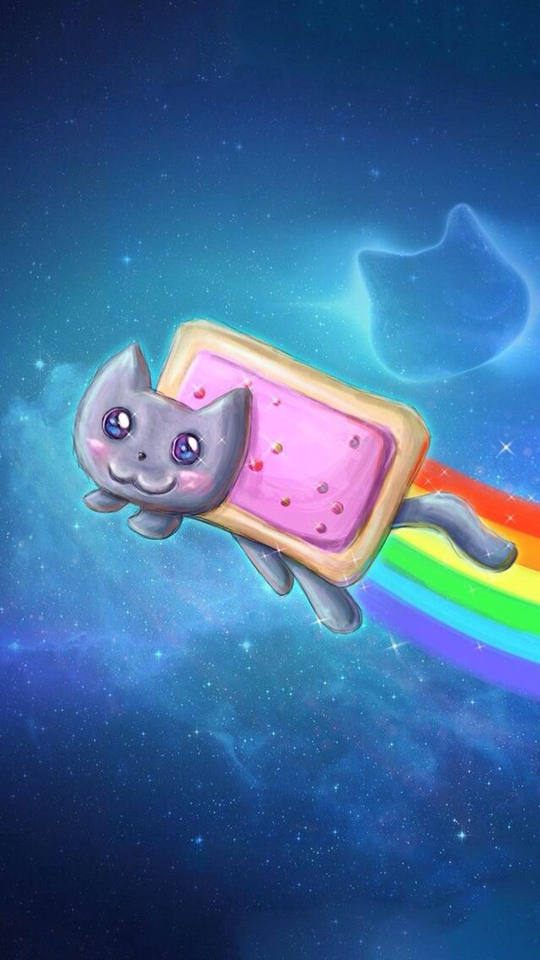 540x960 - Nyan Cat iPhone 43