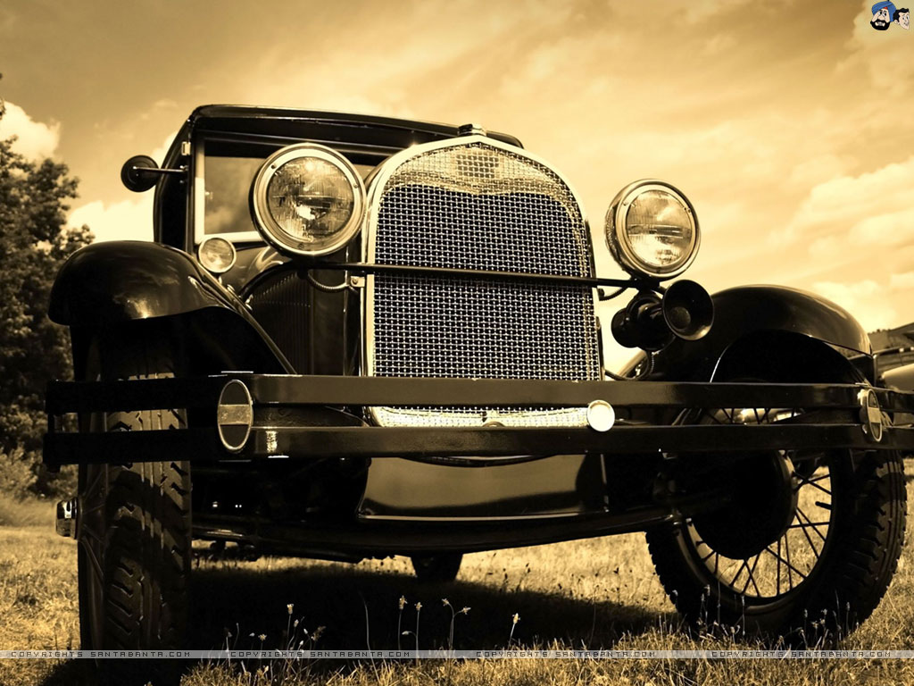 1024x768 - Vintage Car Wallpapers 18