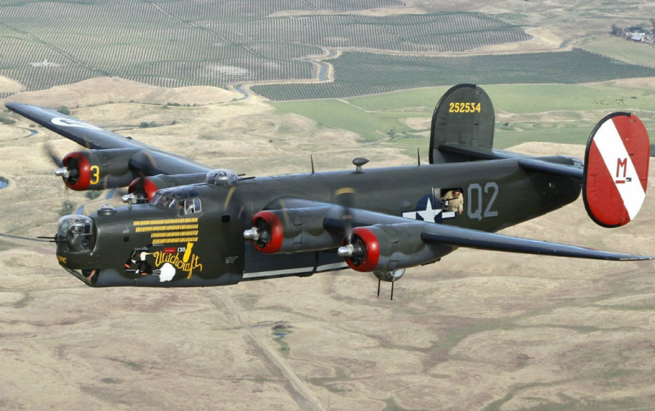 1280x804 - Consolidated B-24 Liberator Wallpapers 2
