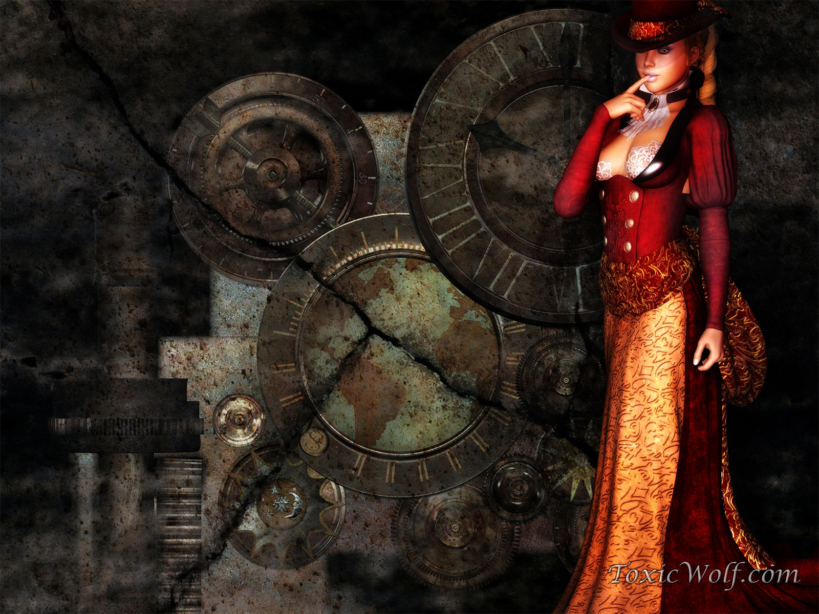 1600x1200 - Steampunk Wallpapers 28