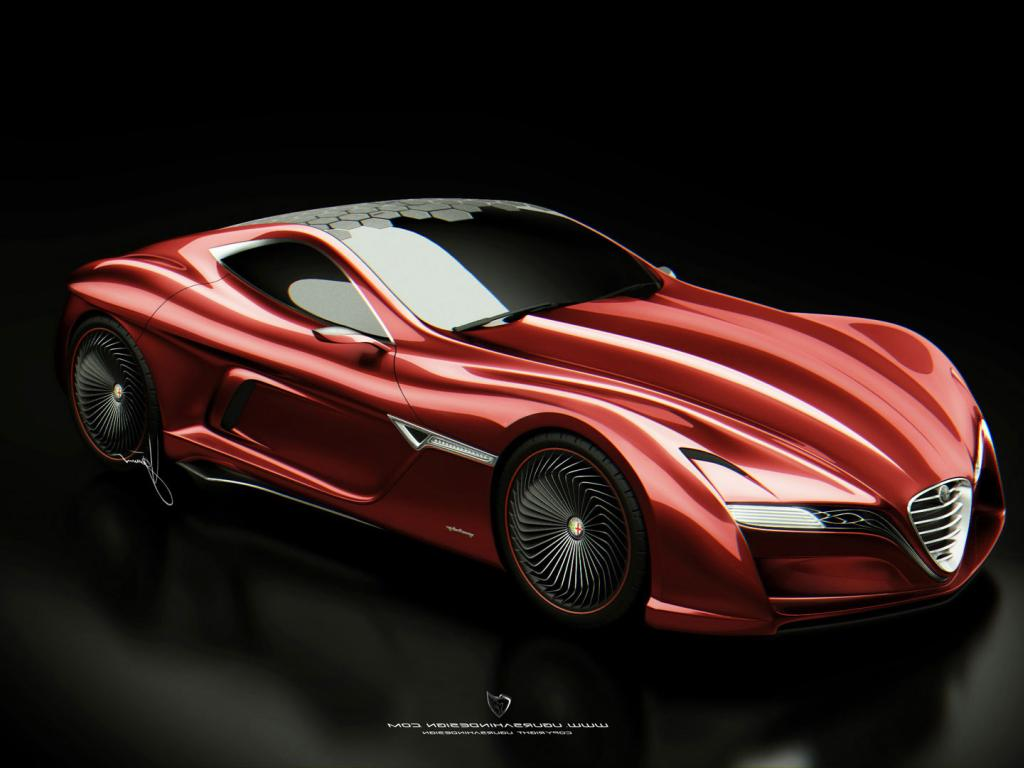 1024x768 - Alfa Romeo 12C GTS Wallpapers 26