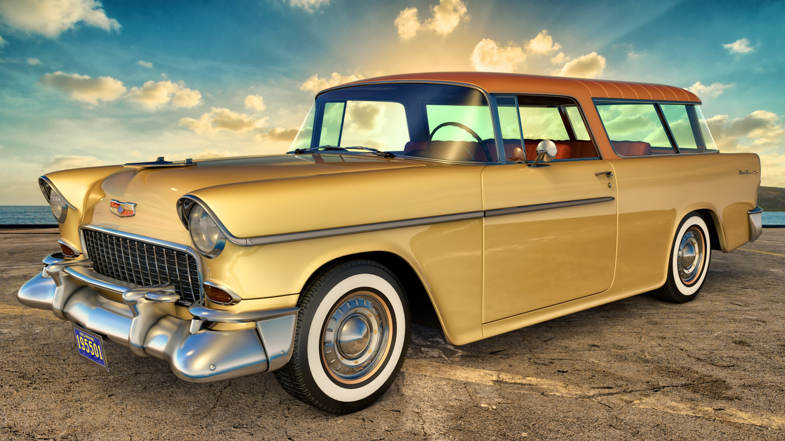 2560x1440 - Chevrolet Nomad Wallpapers 27