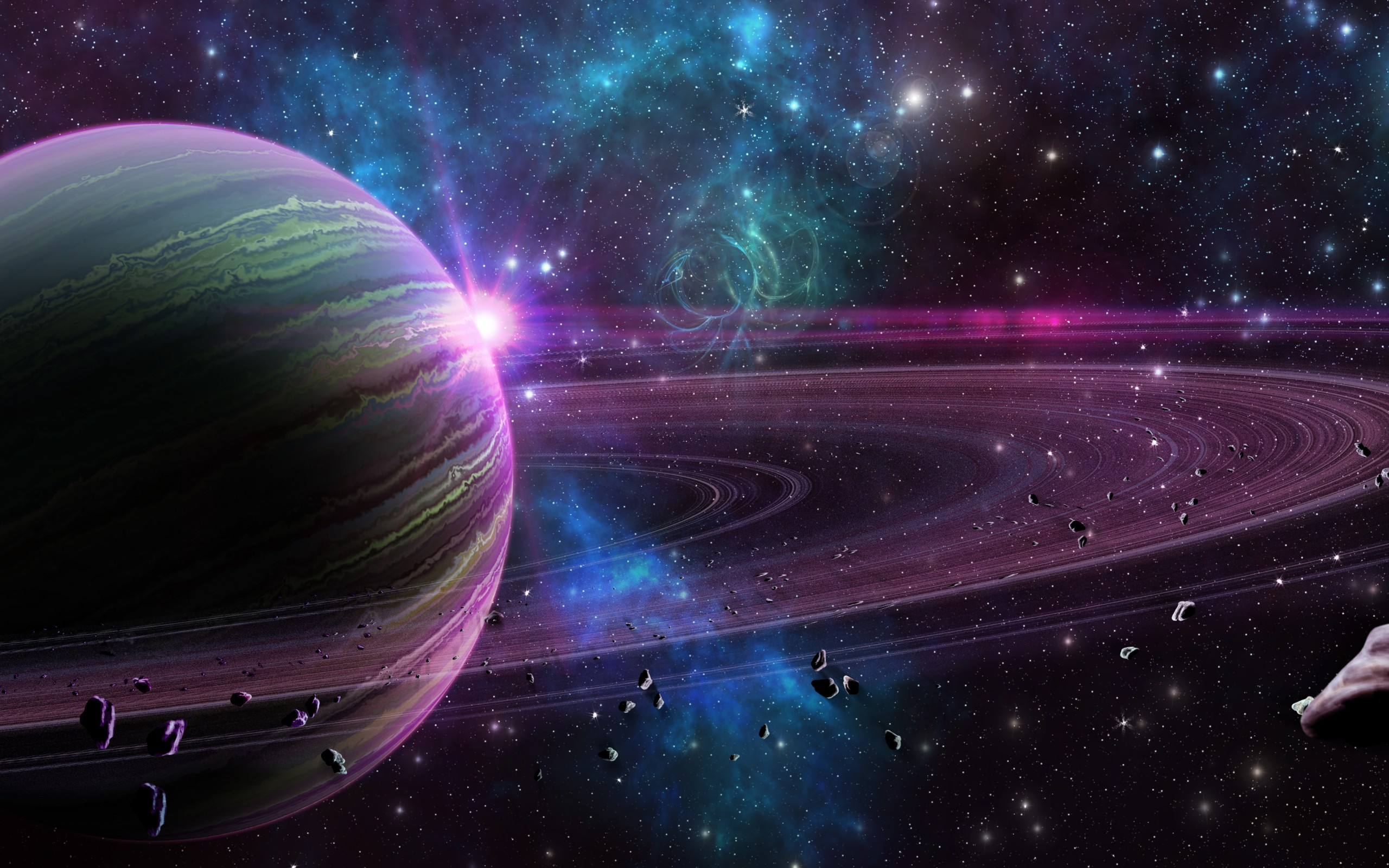 2560x1600 - Planetary Ring Wallpapers 19