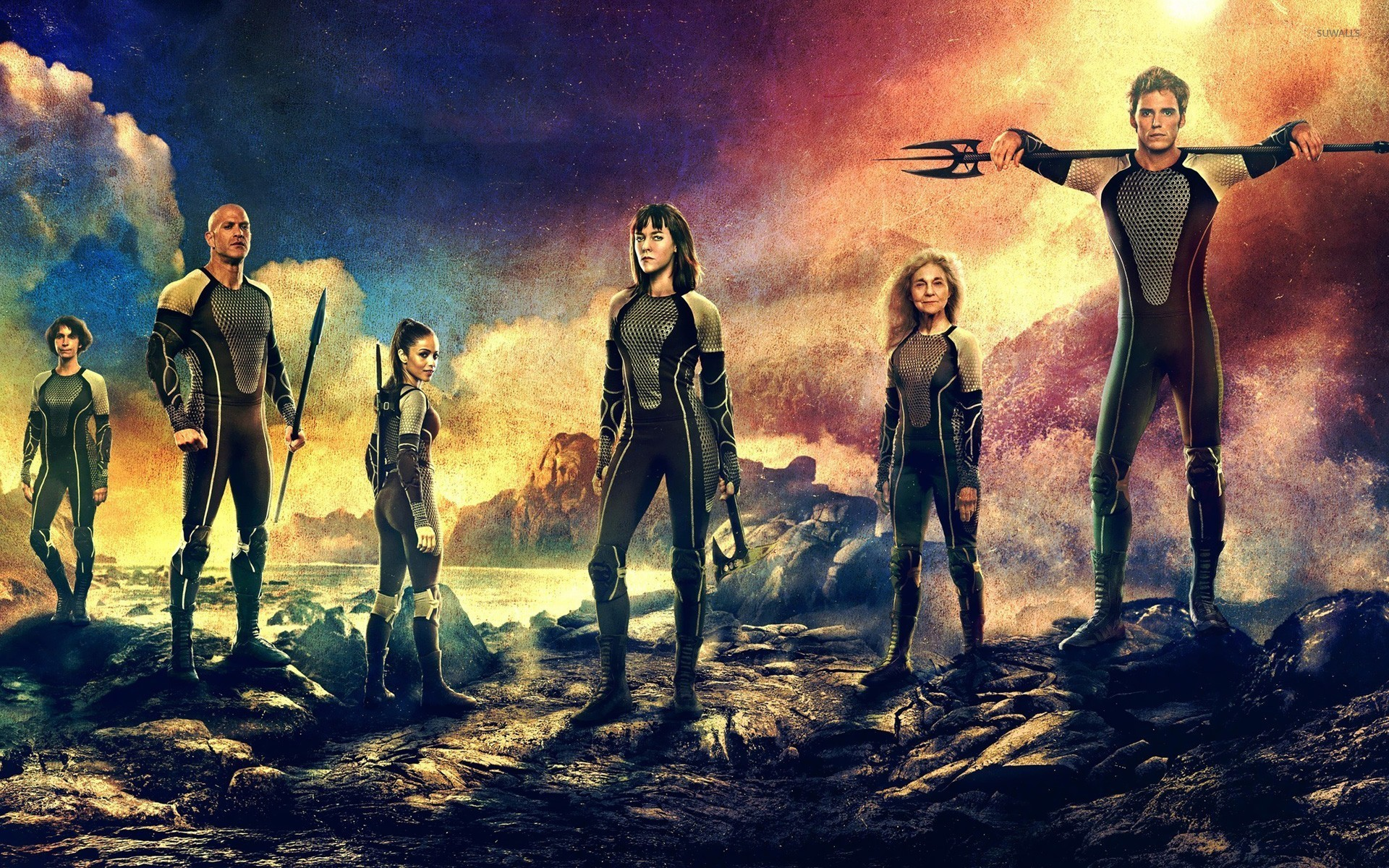 The Hunger Games Catching Fire Wallpapers 34 Images