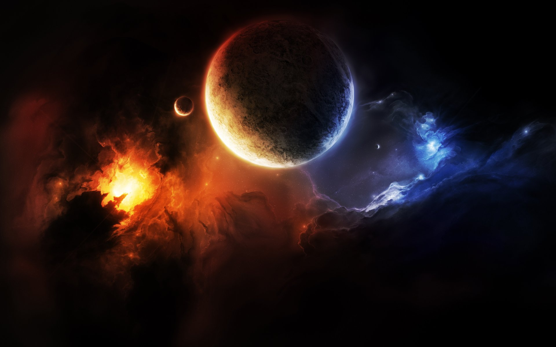 1920x1200 - Planets Wallpapers 1