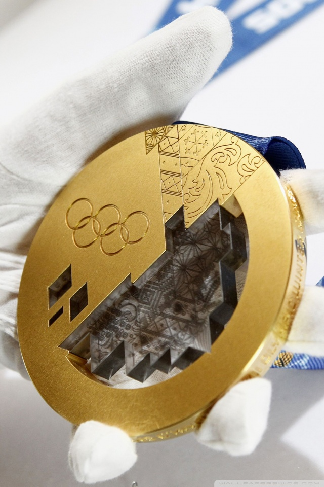 640x960 - Olympic Gold Metal Wallpapers 23