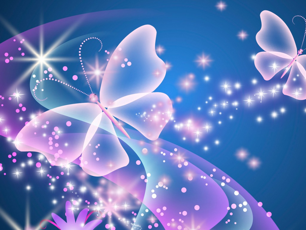 1024x768 - Pretty Butterfly Backgrounds 10