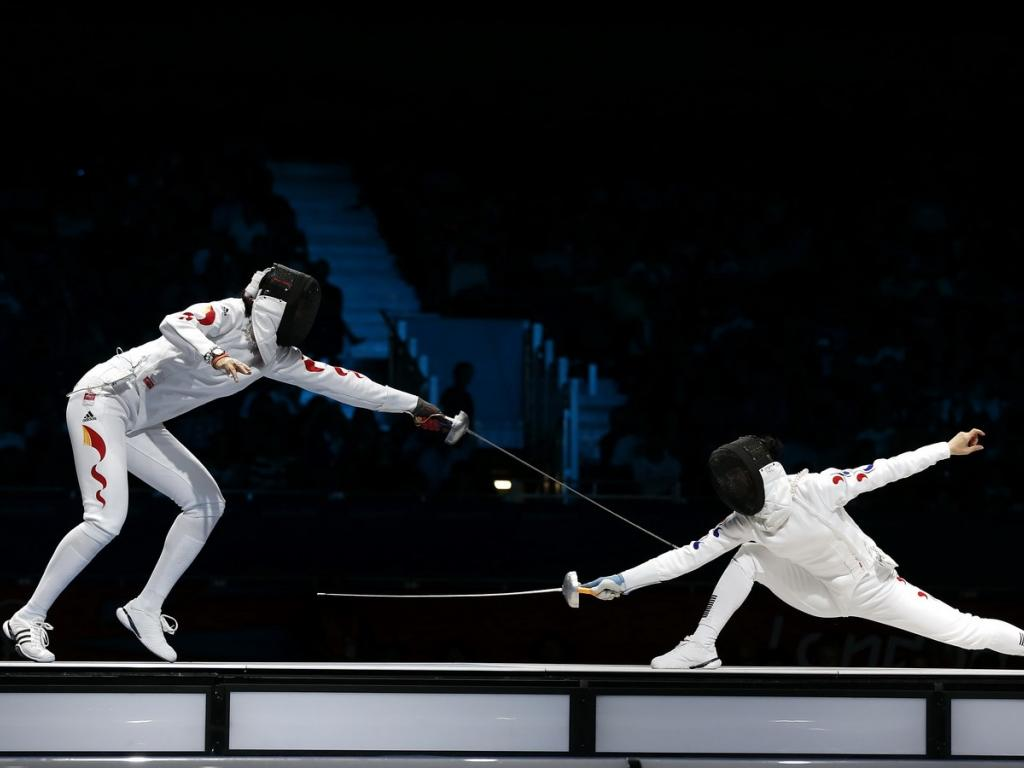1024x768 - Fencing Wallpapers 27