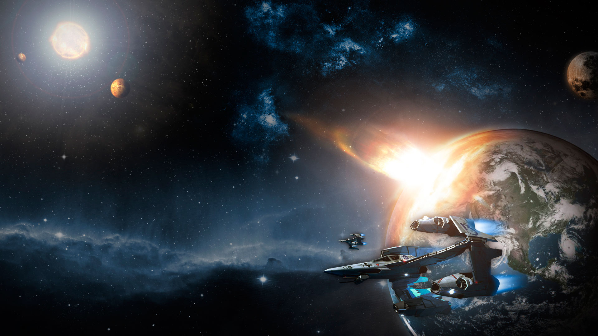 1920x1080 - Spaceship Wallpapers 21