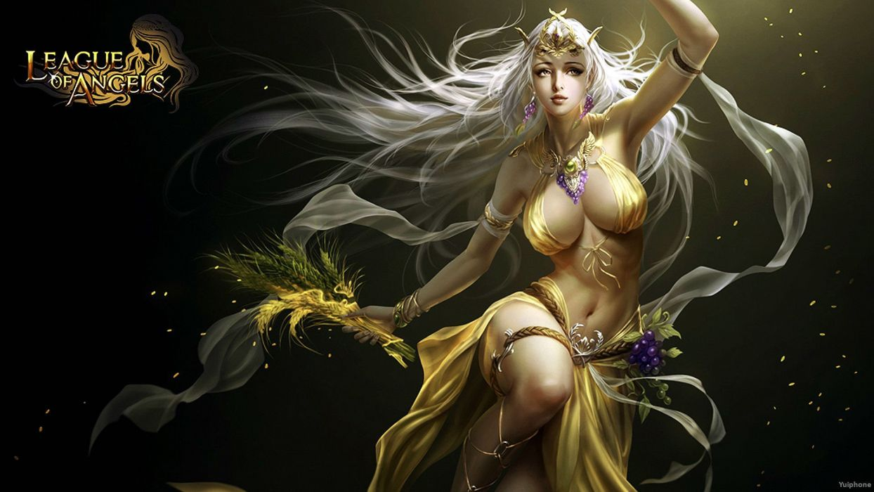 1244x700 - League Of Angels HD Wallpapers 5