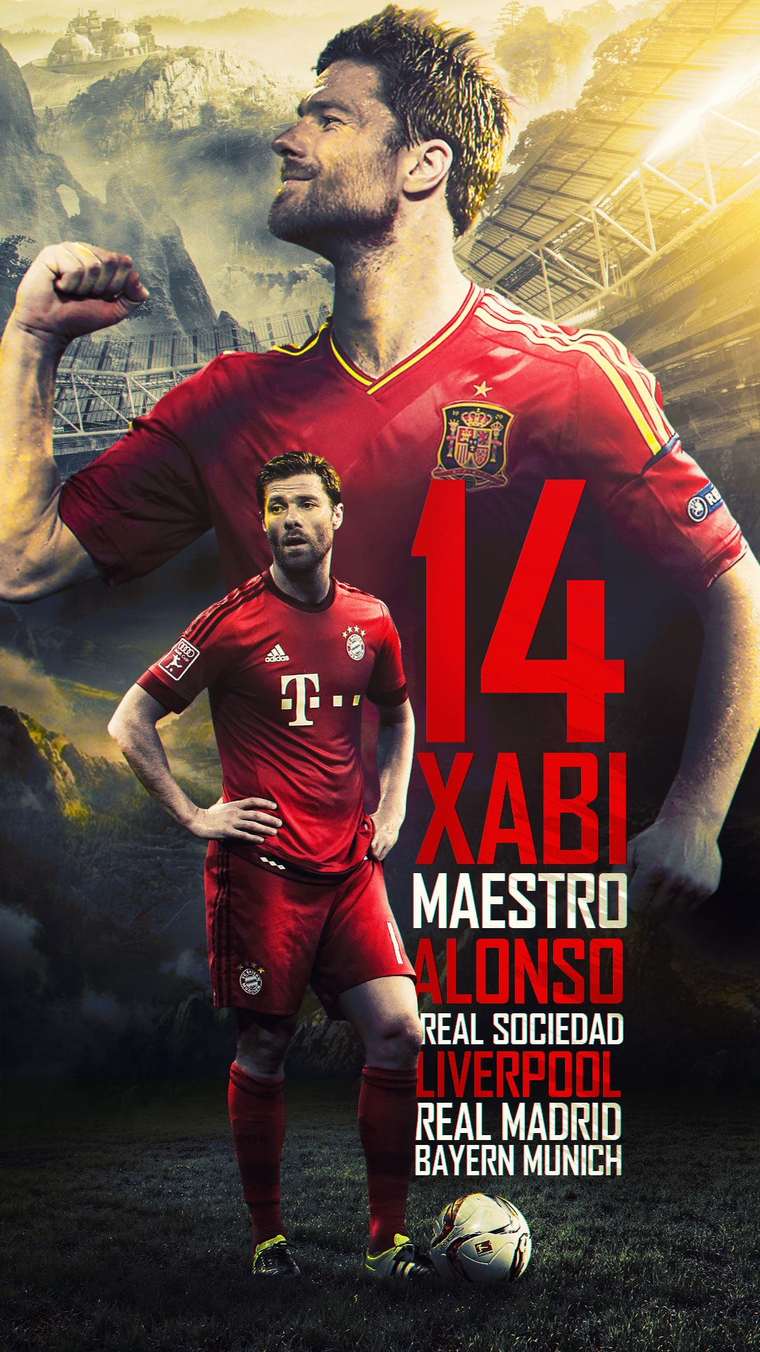 1080x1920 - Xabi Alonso Wallpapers 4