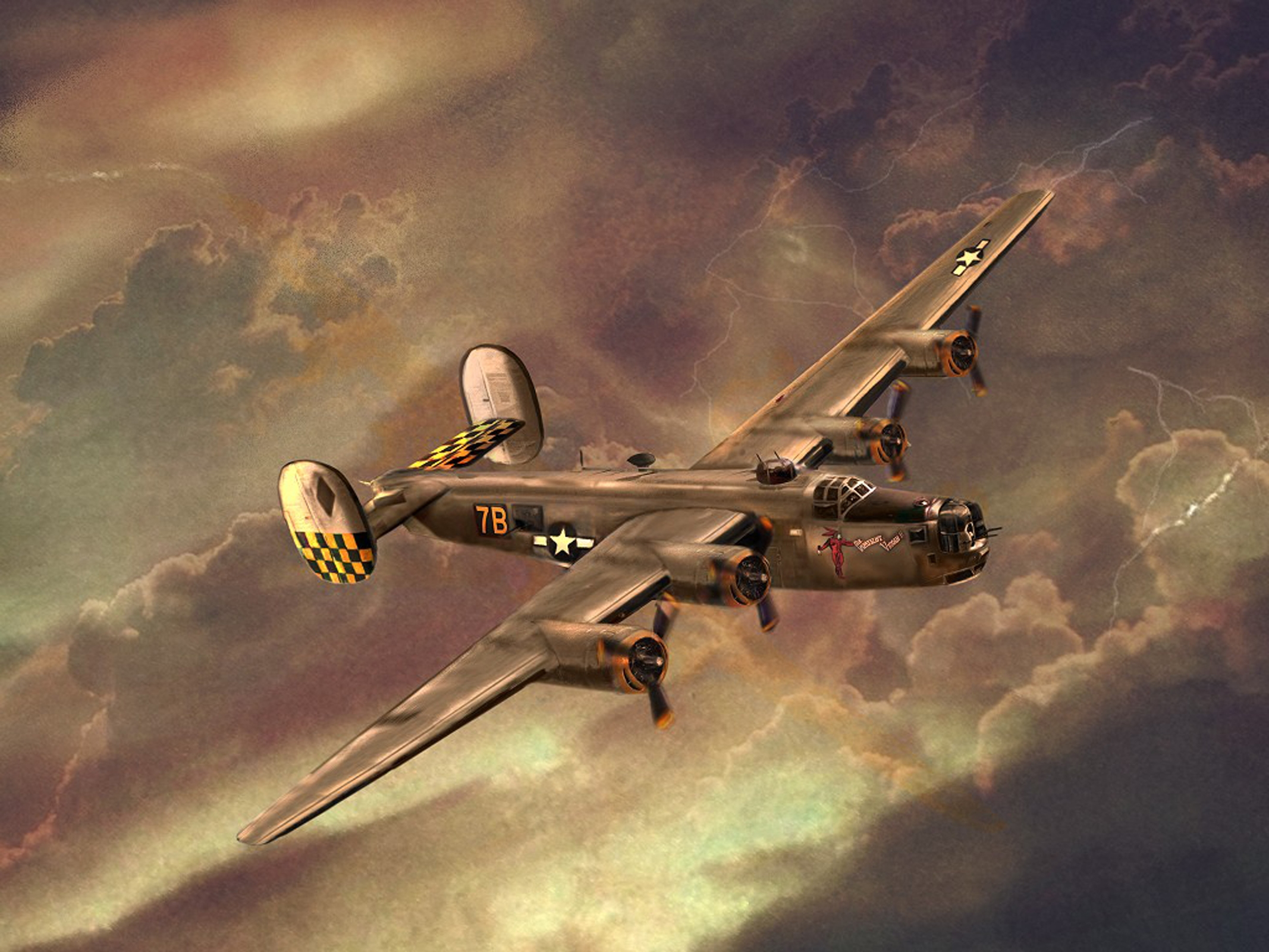 2134x1600 - Consolidated B-24 Liberator Wallpapers 12