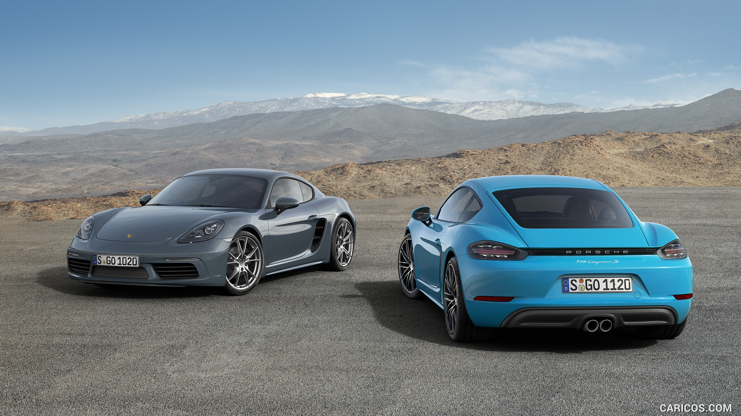 2560x1440 - Porsche Cayman Wallpapers 4