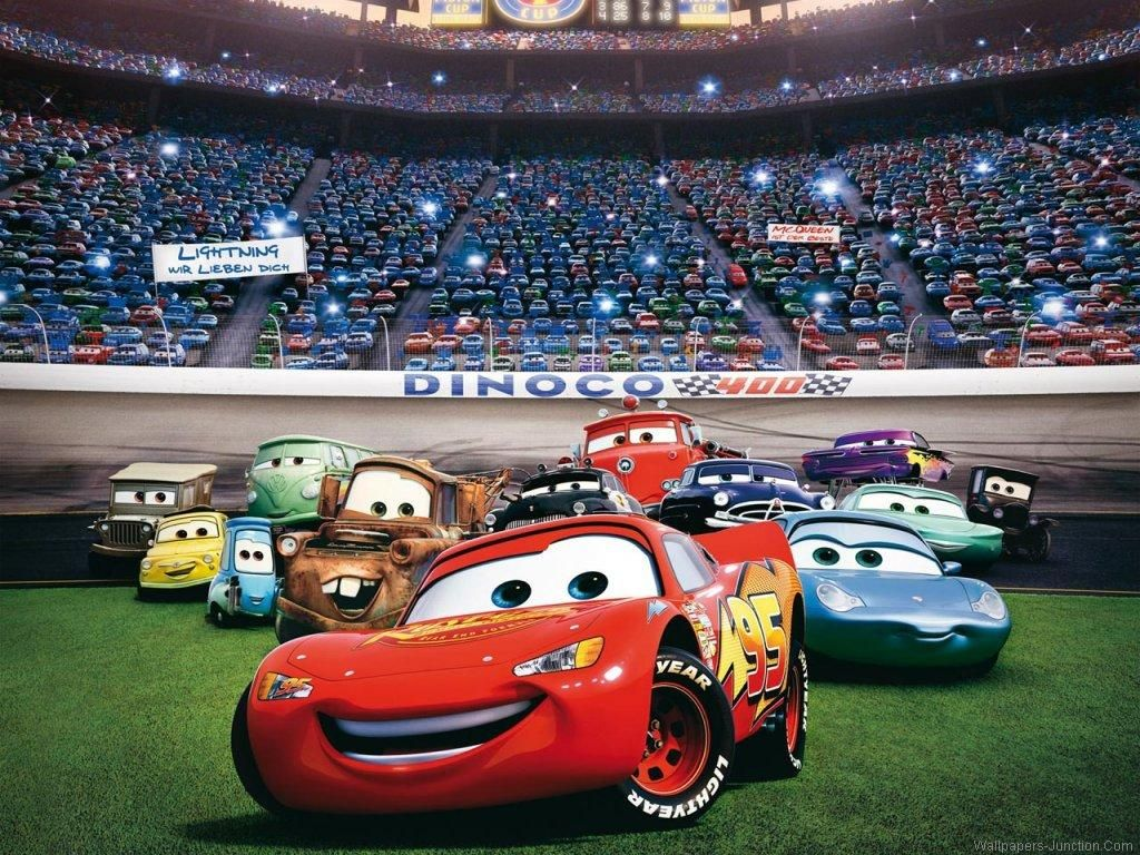 1024x768 - Wallpaper Cars Cartoon 8