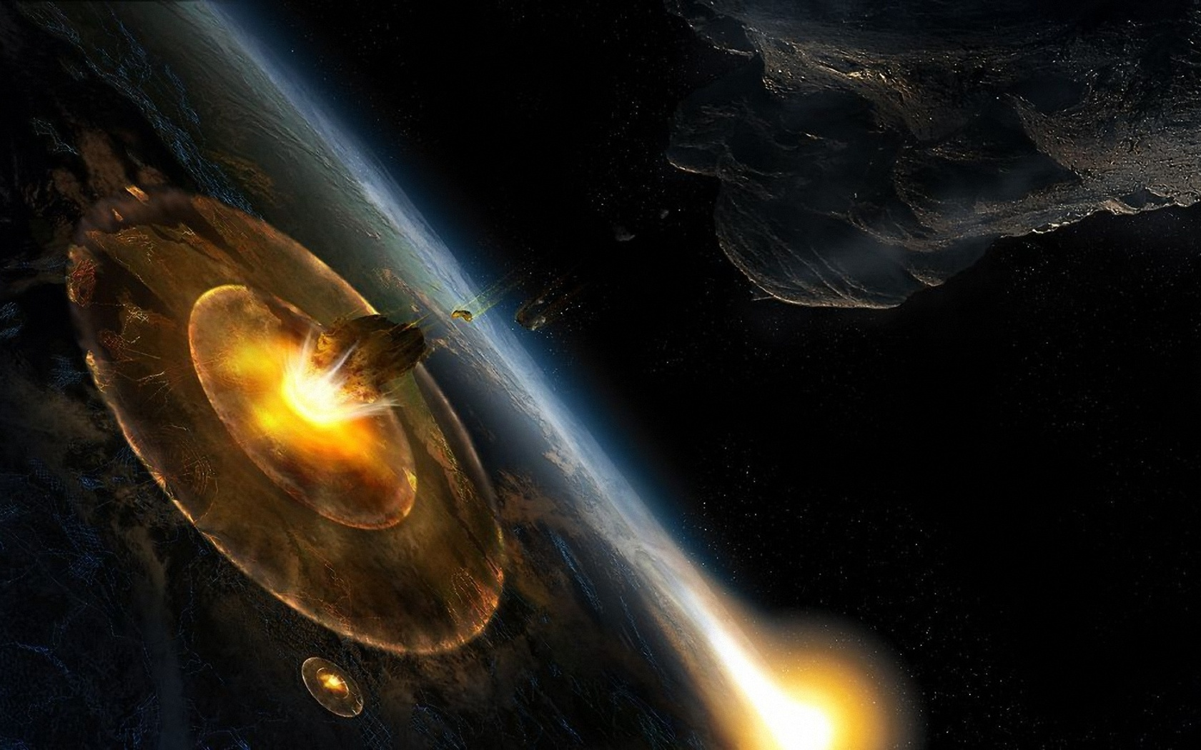 1680x1050 - Asteroid Wallpapers 31