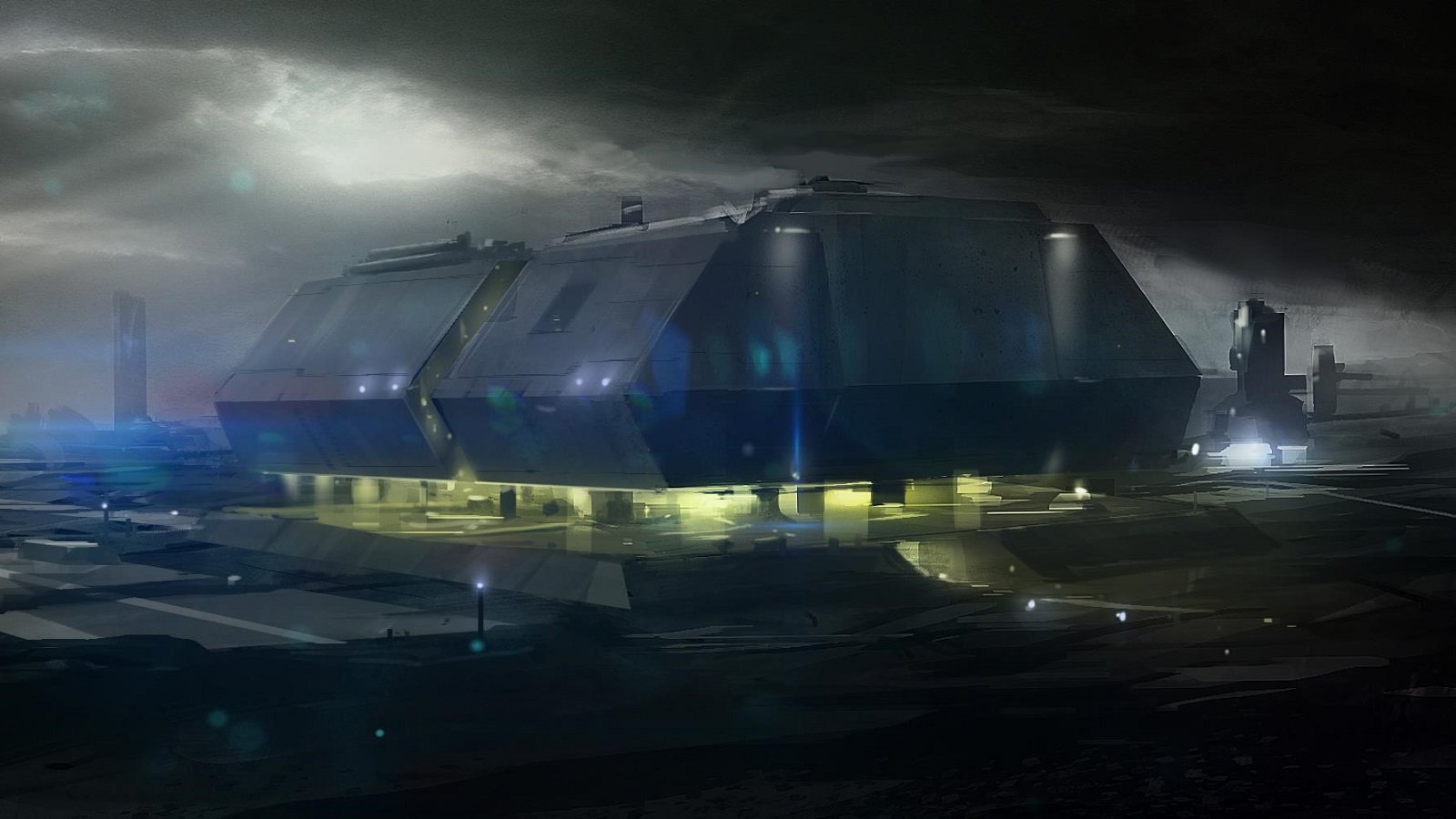 1600x900 - Sci Fi Building Wallpapers 8