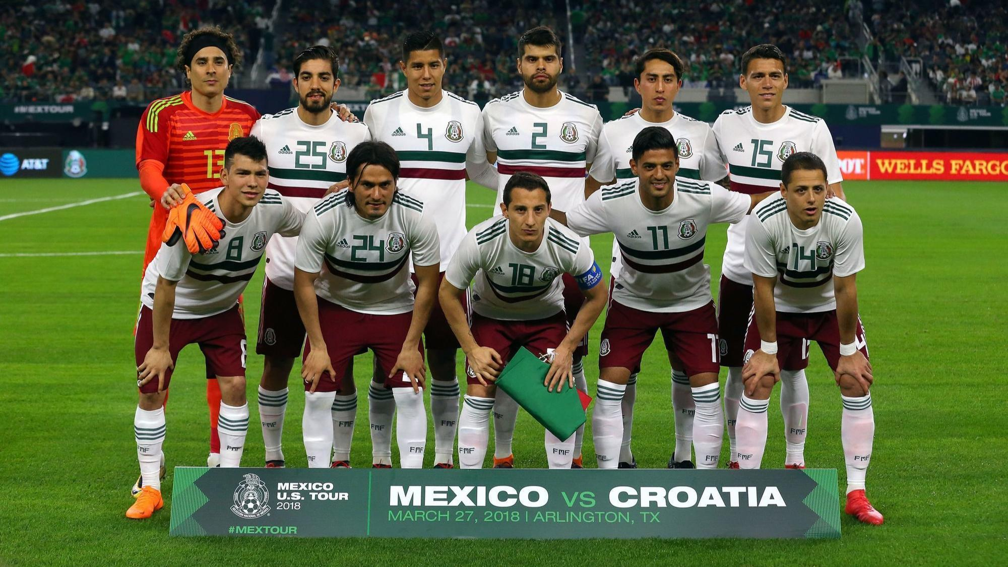 2000x1125 - Mexican Soccer Team 2018 2