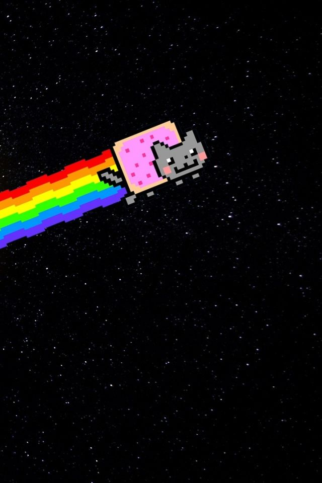 640x960 - Nyan Cat iPhone 3