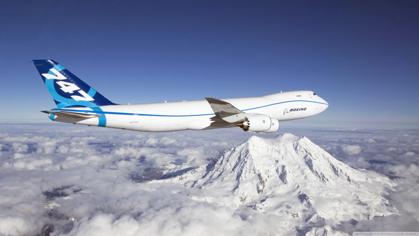 1366x768 - Boeing 747 Wallpapers 15