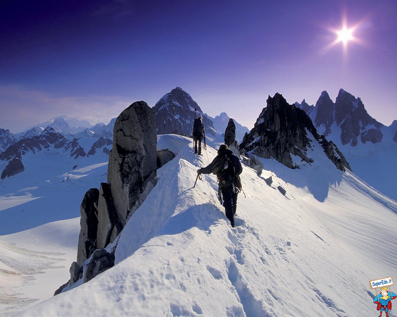 1280x1024 - Mountaineering Wallpapers 17