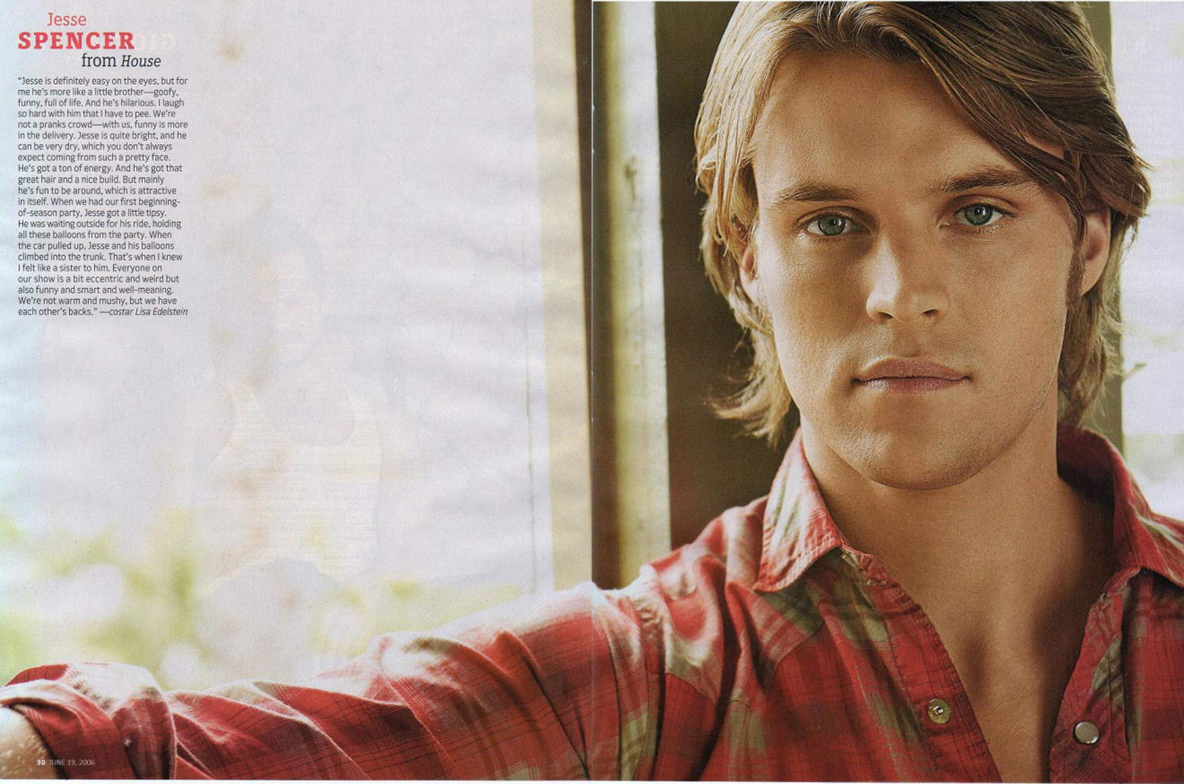 2409x1595 - Jesse Spencer Wallpapers 15