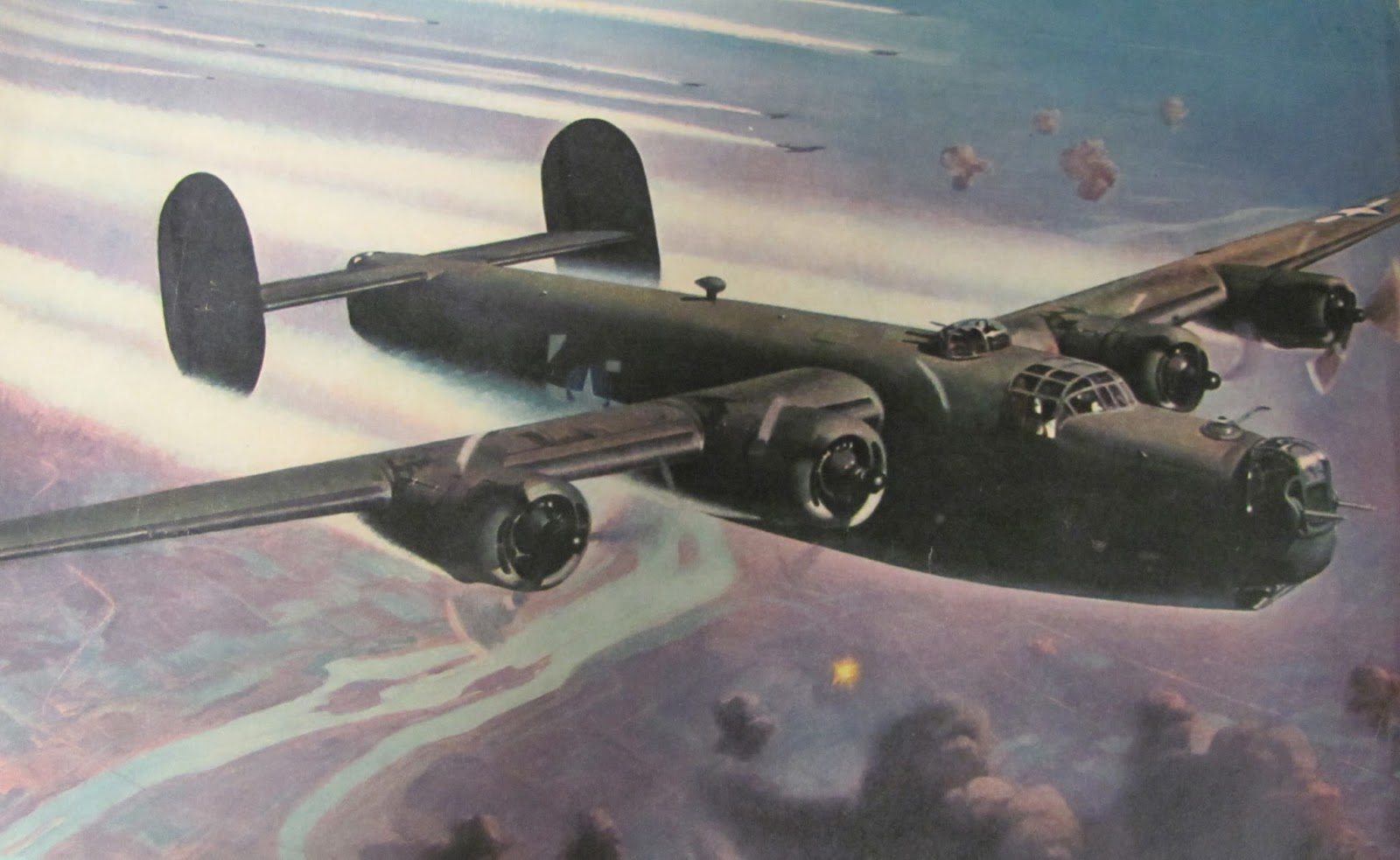 1600x983 - Consolidated B-24 Liberator Wallpapers 7
