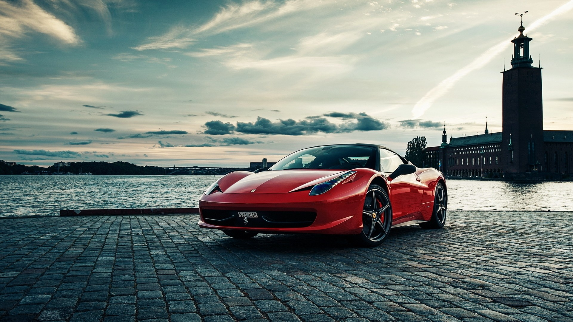 1920x1080 - Ferrari 458 Italia Wallpapers 3