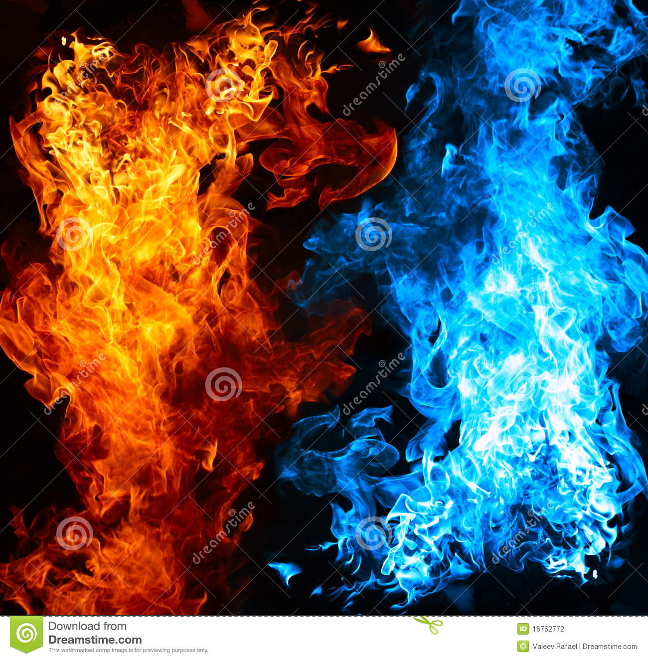 1300x1324 - Red and Blue Fire 10