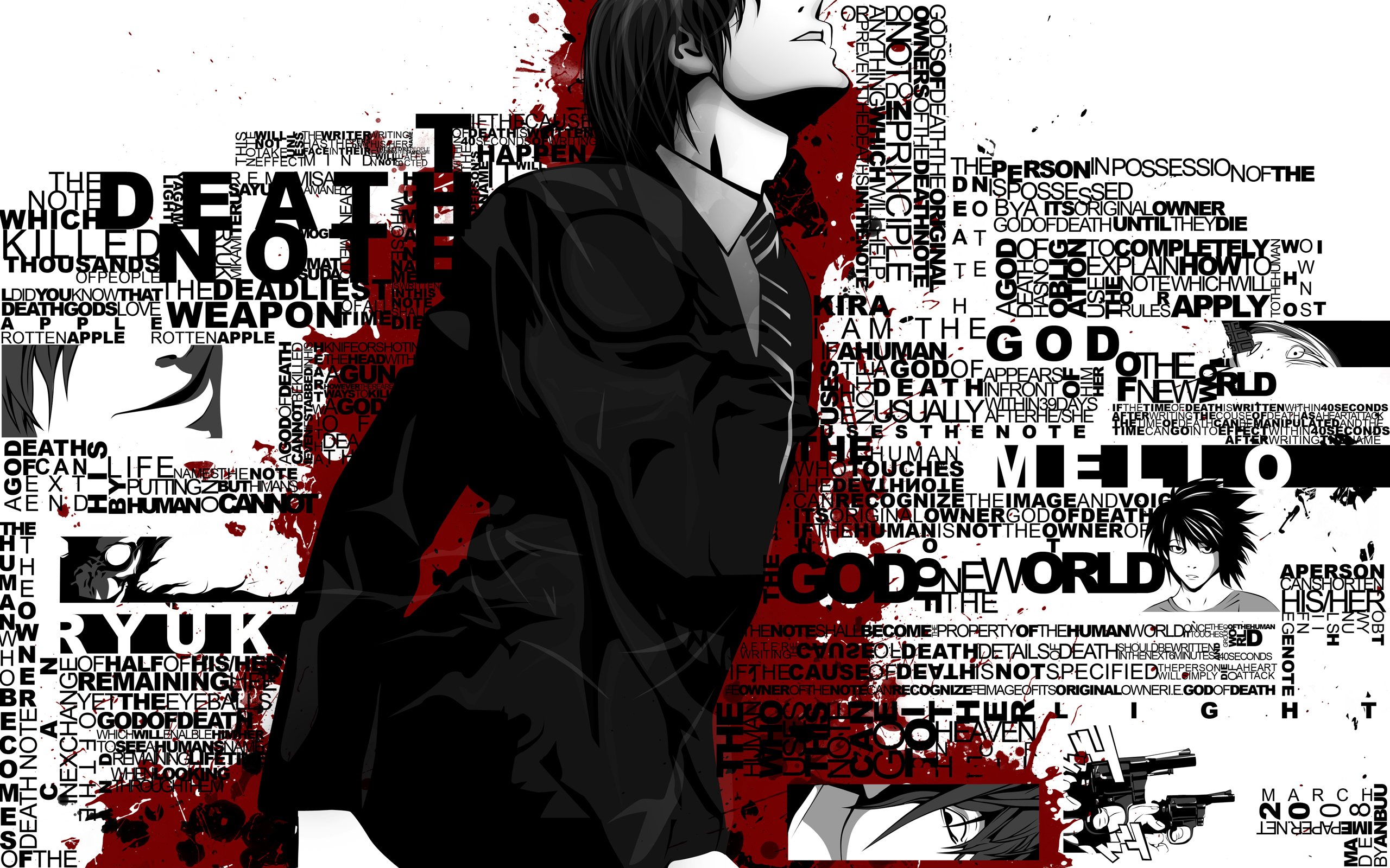 Death Note Wallpapers 30 Images Dodowallpaper