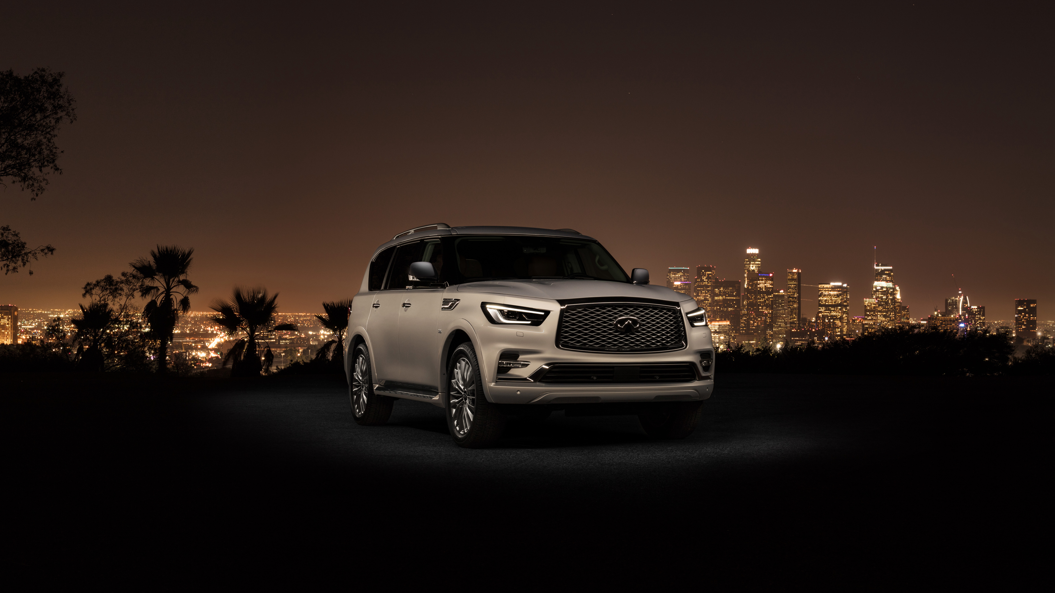4096x2304 - Infiniti QX80 Wallpapers 1