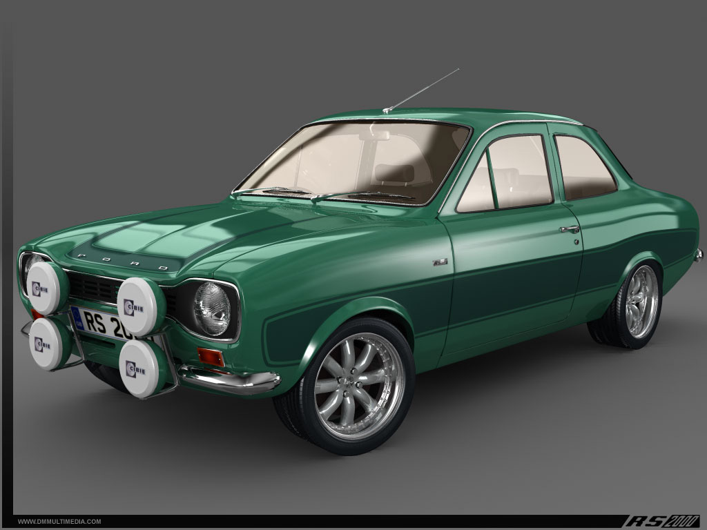 1024x768 - Ford Escort Wallpapers 27
