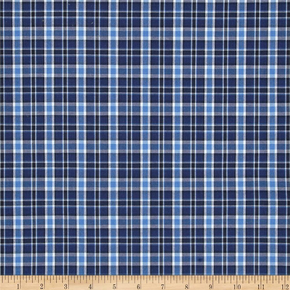 1000x1000 - Blue Plaid 4