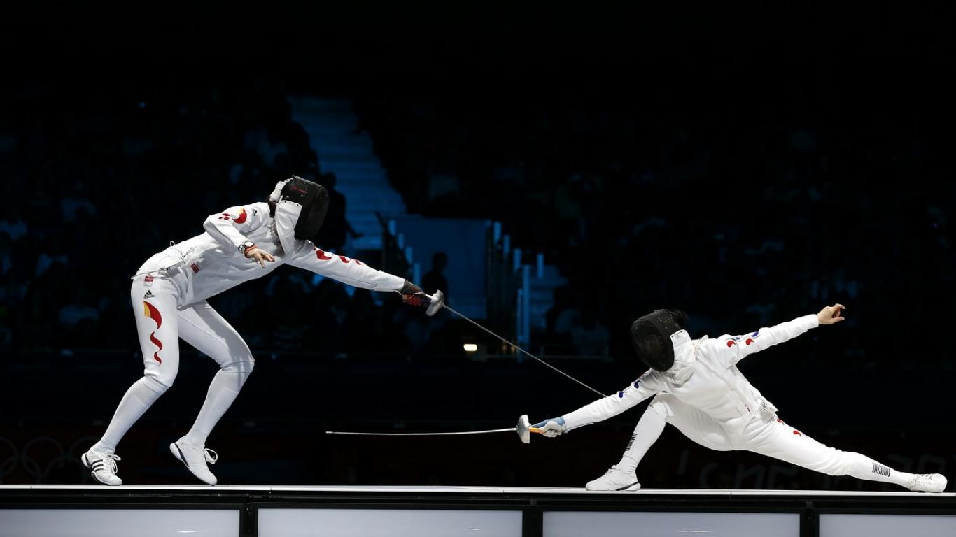 1366x768 - Fencing Wallpapers 26