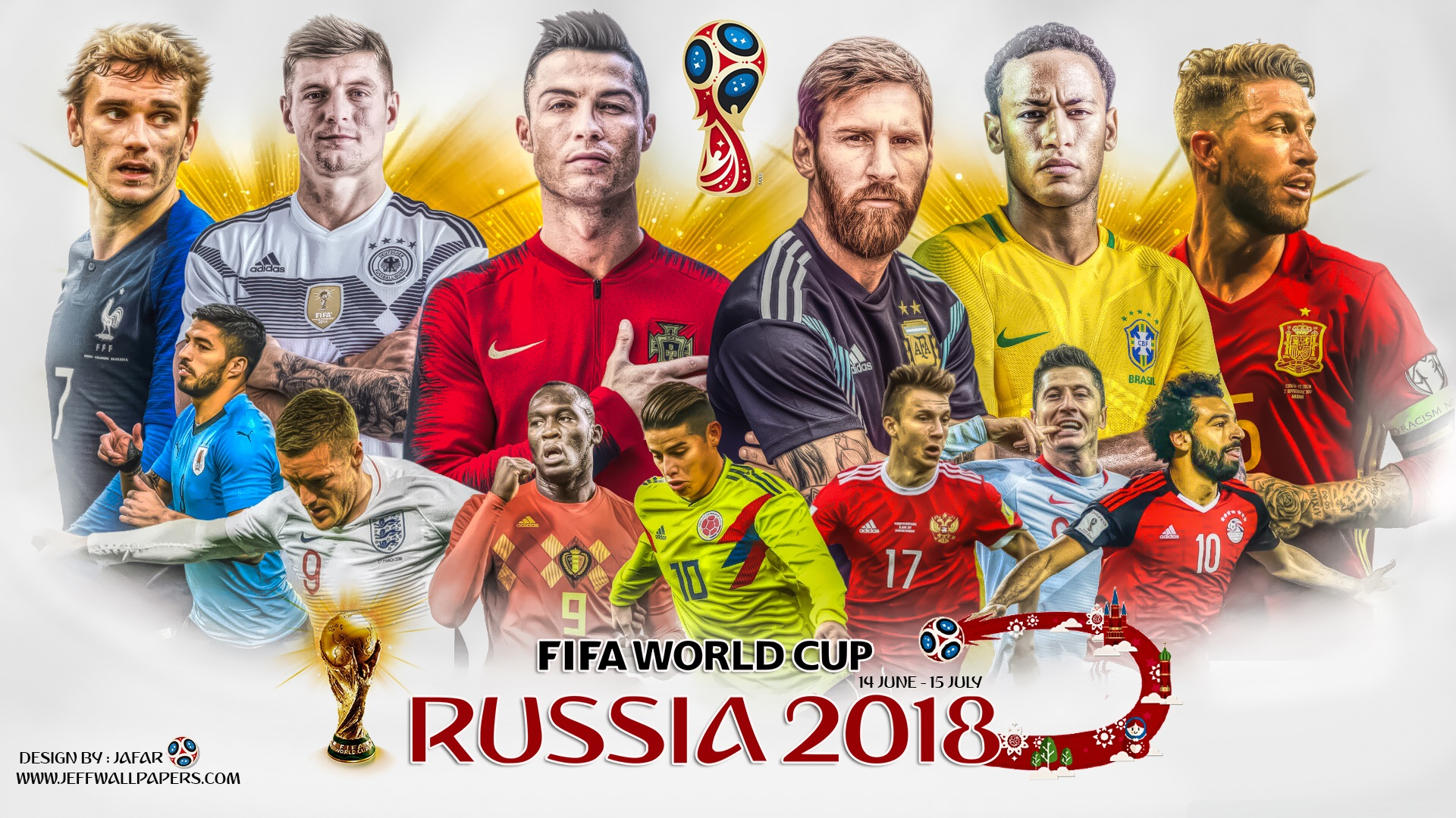 1920x1080 - FIFA World Cup 2018 Wallpapers 9