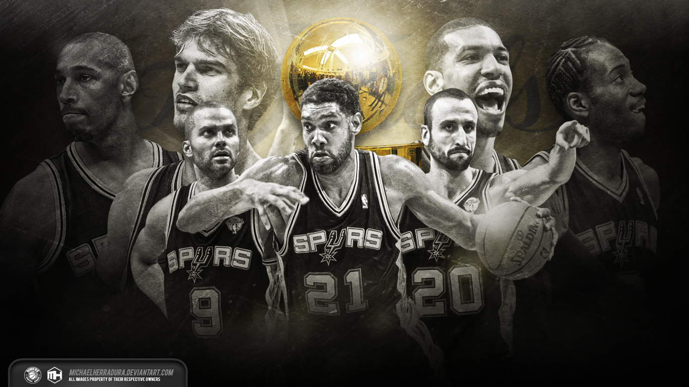 1366x768 - San Antonio Spurs Wallpapers 24