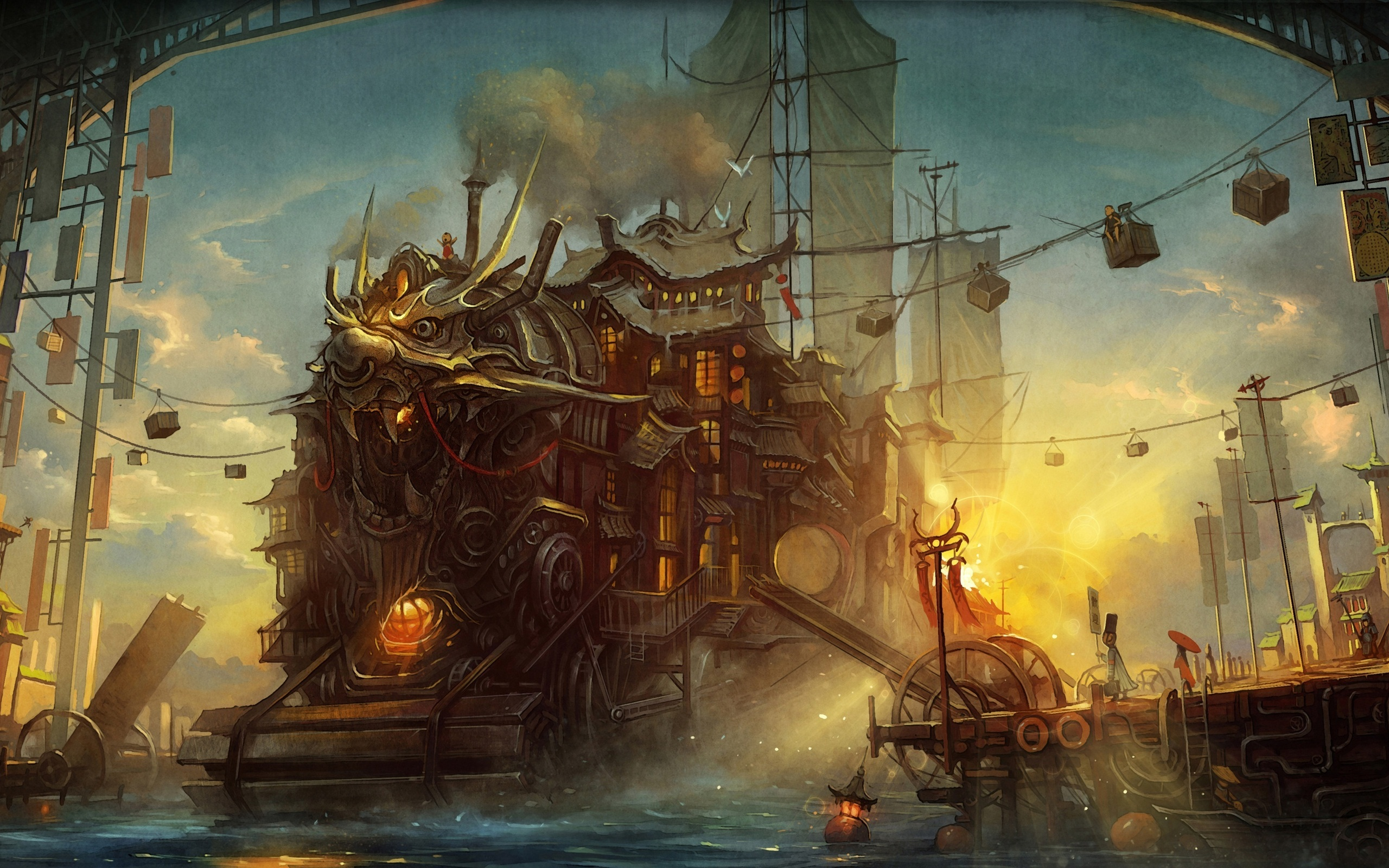 2560x1600 - Steampunk Wallpapers 29