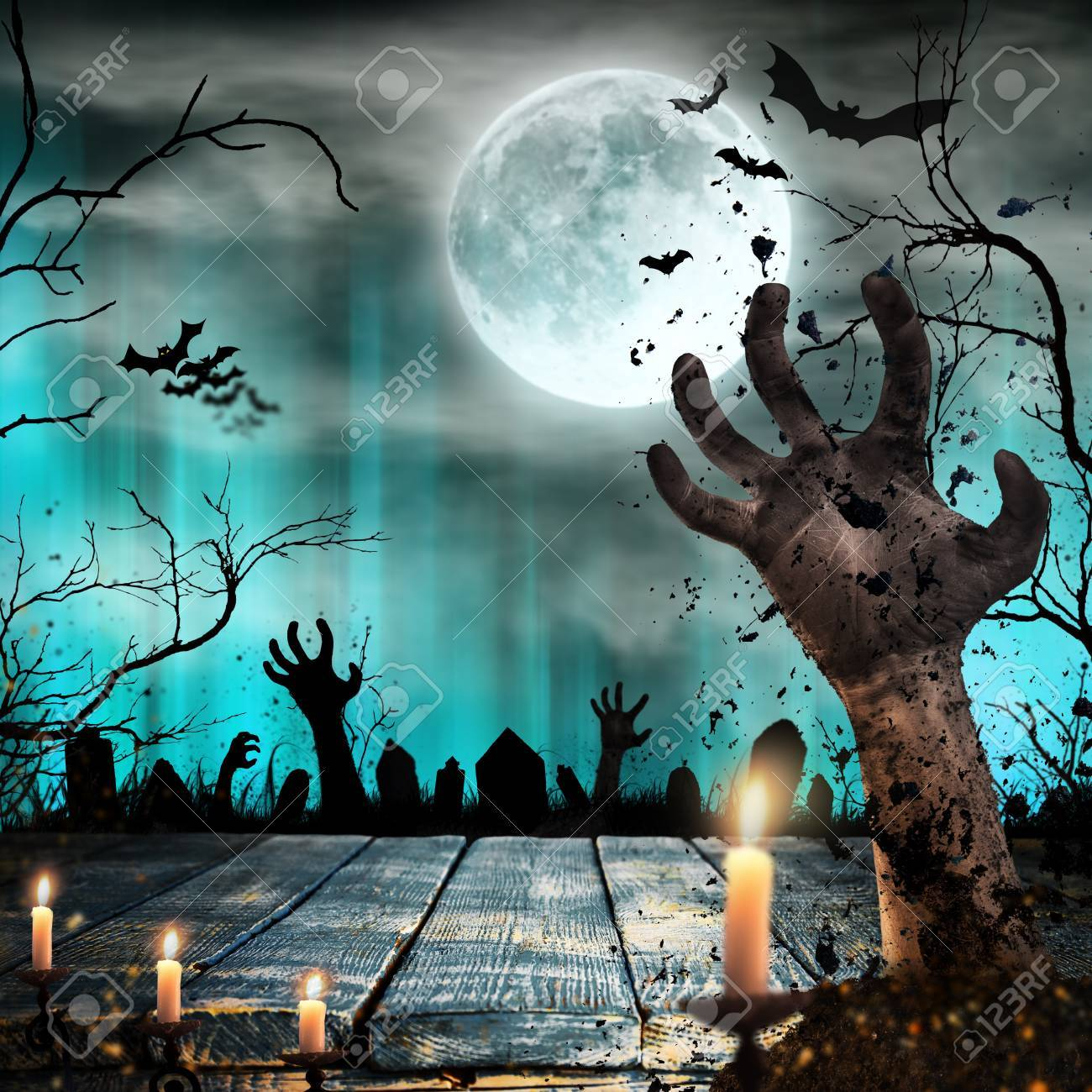 1300x1300 - Scary Halloween Background 1