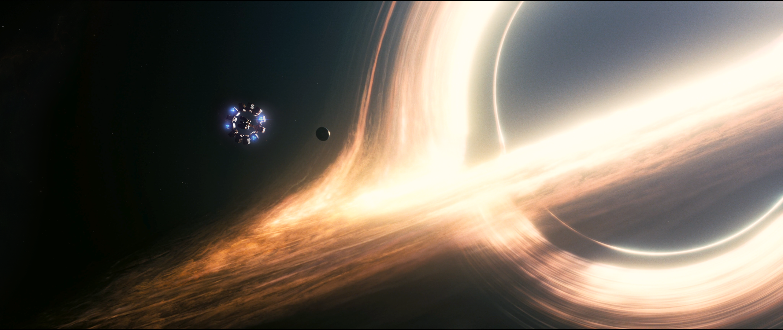 2560x1080 - Black Hole Wallpapers 6