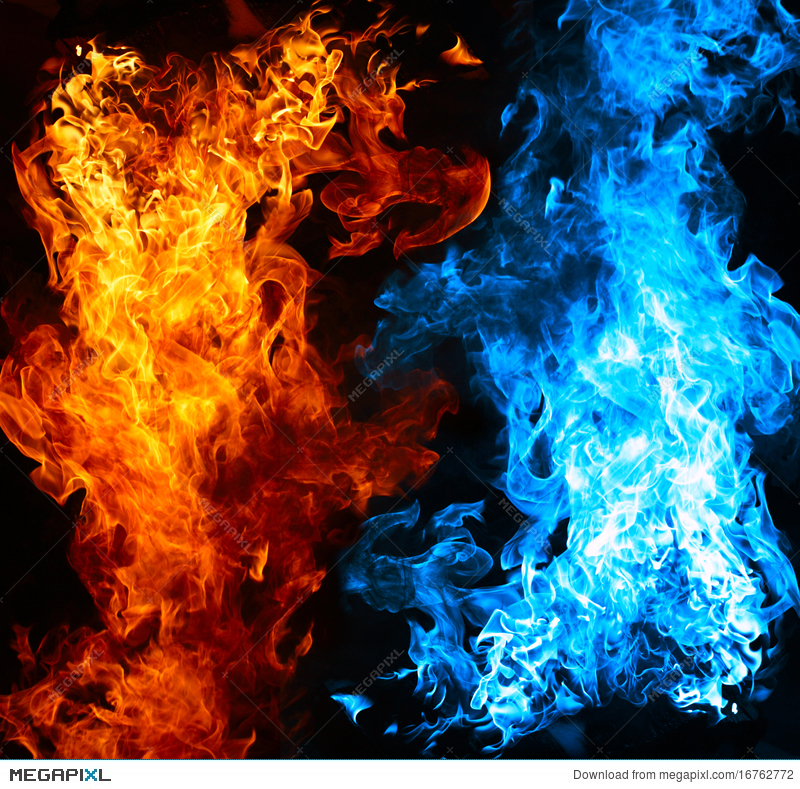 800x789 - Red and Blue Fire 27