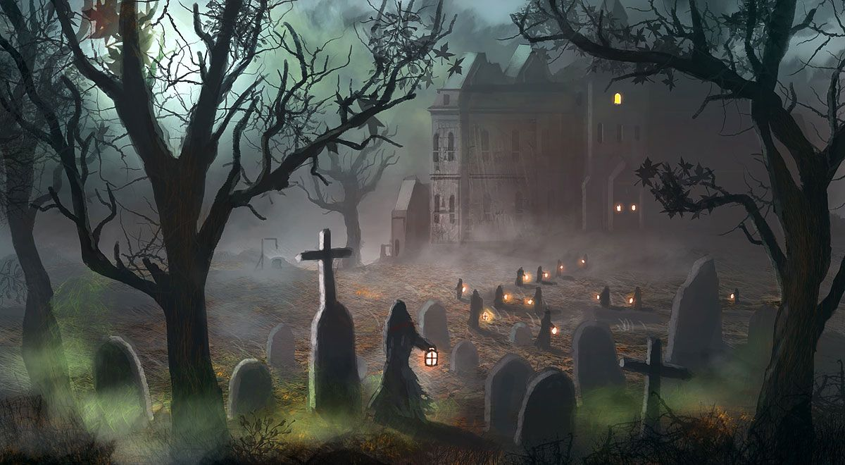 1200x660 - Scary Halloween Background 32