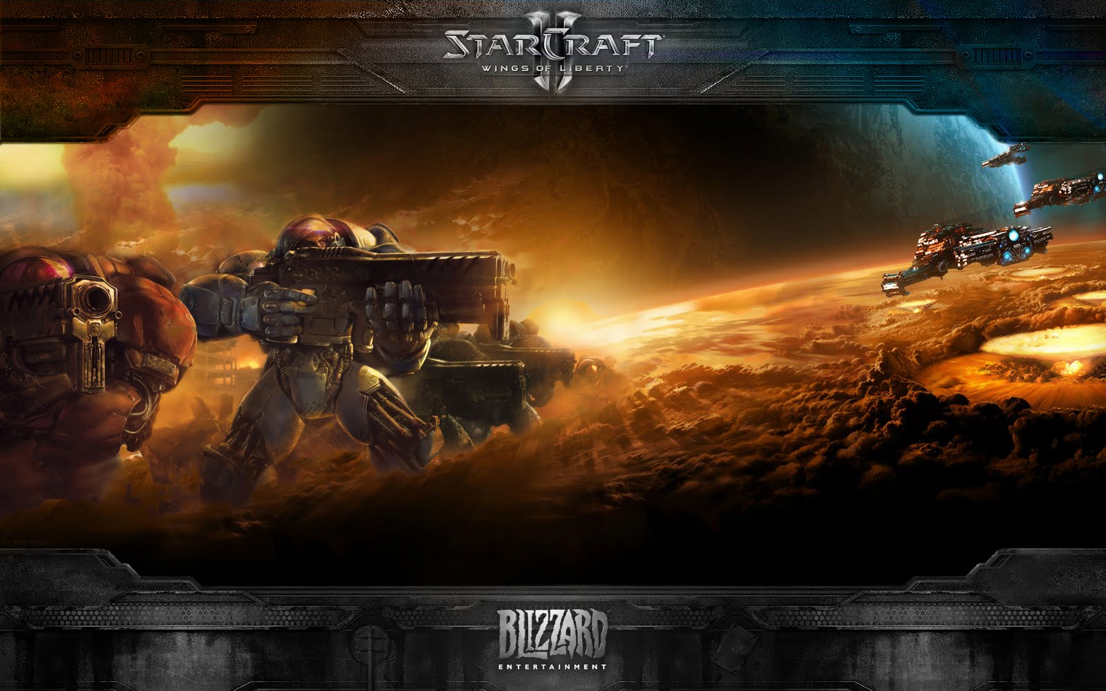1600x1000 - Starcraft II: Wings Of Liberty HD Wallpapers 5