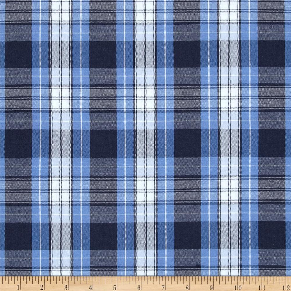 1000x1000 - Blue Plaid 10