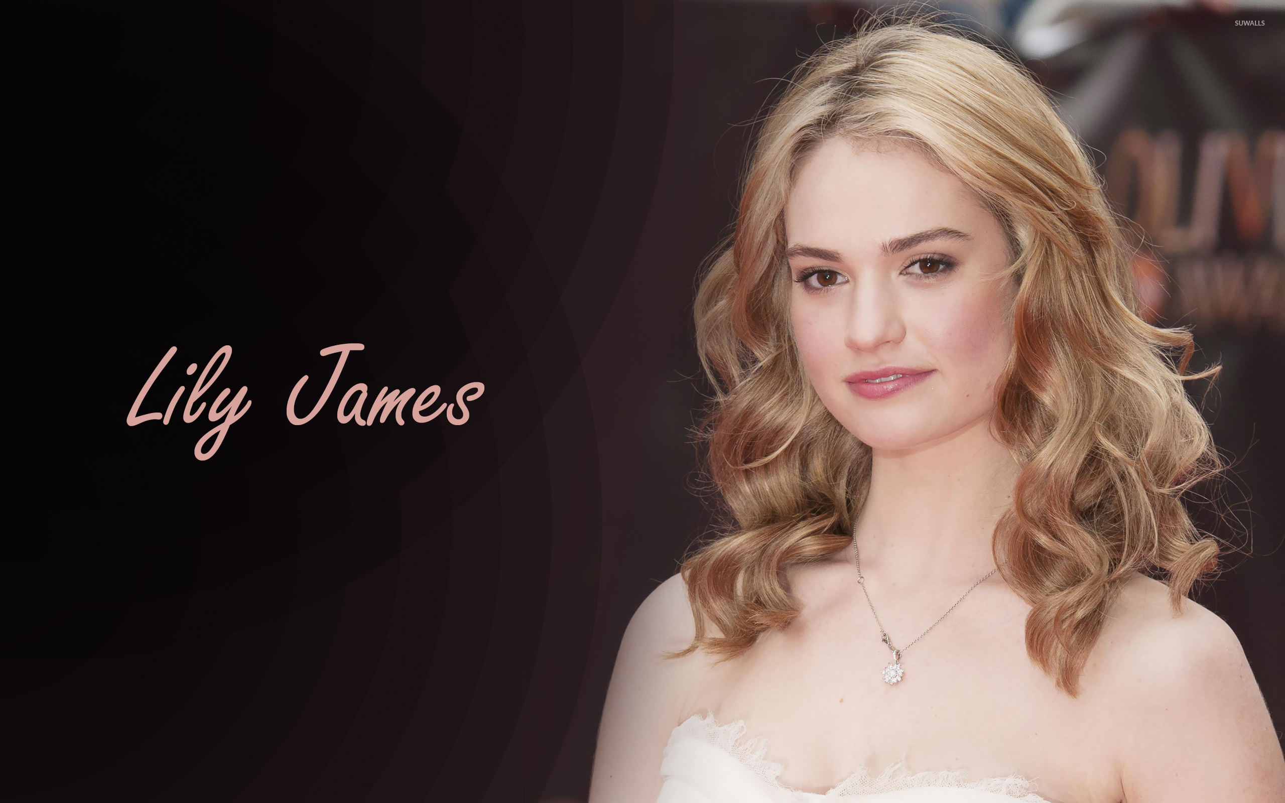 2560x1600 - Lily James Wallpapers 34