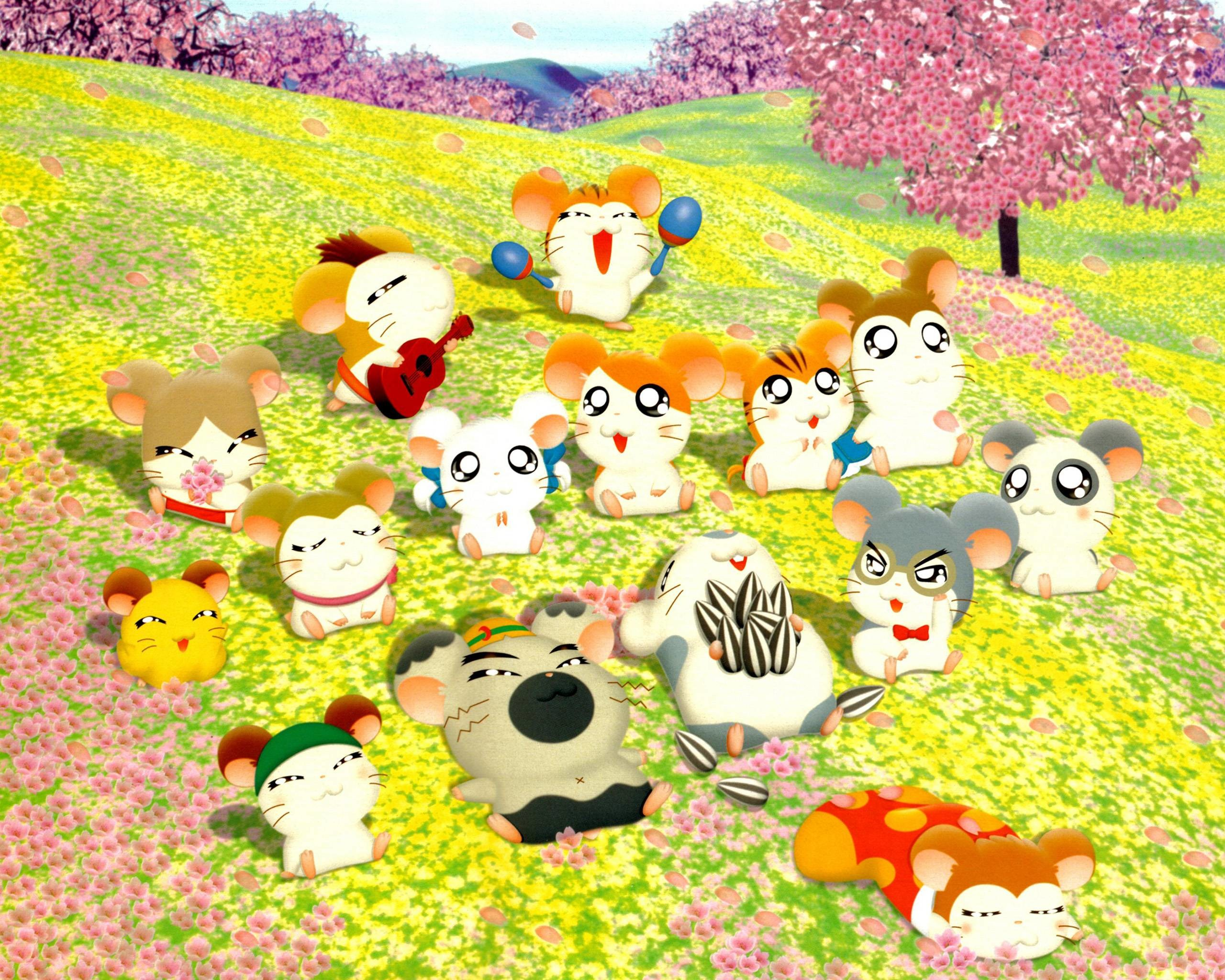 2560x2048 - Hamtaro Background 1