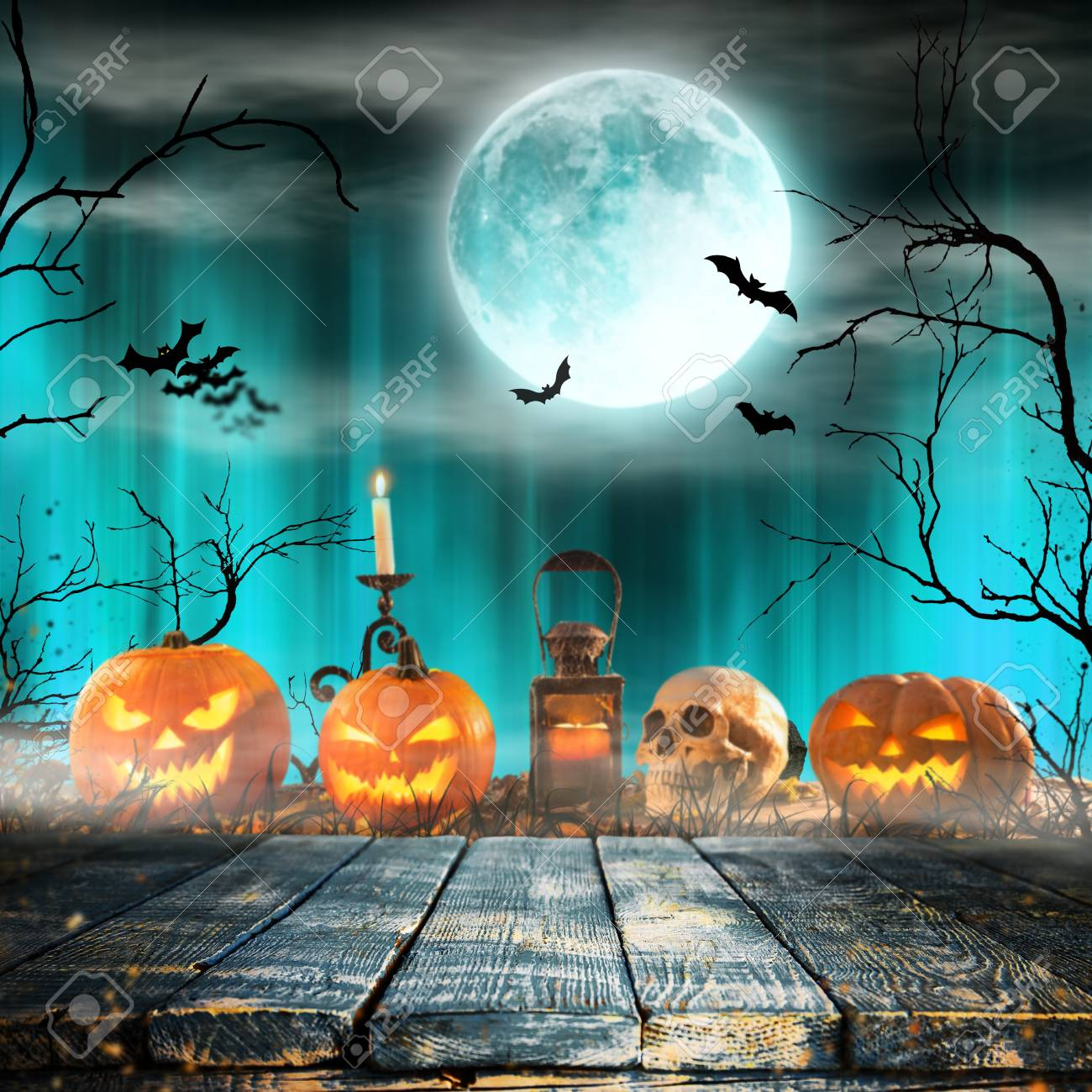 1300x1300 - Scary Halloween Background 48