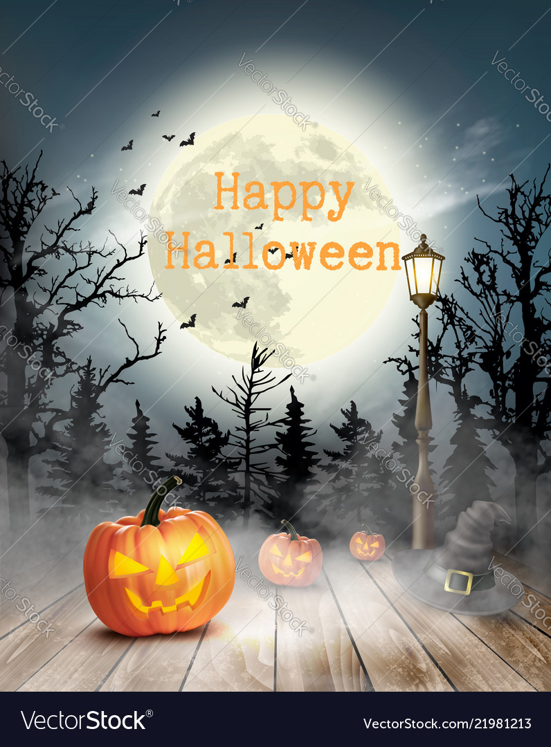 796x1080 - Scary Halloween Background 37