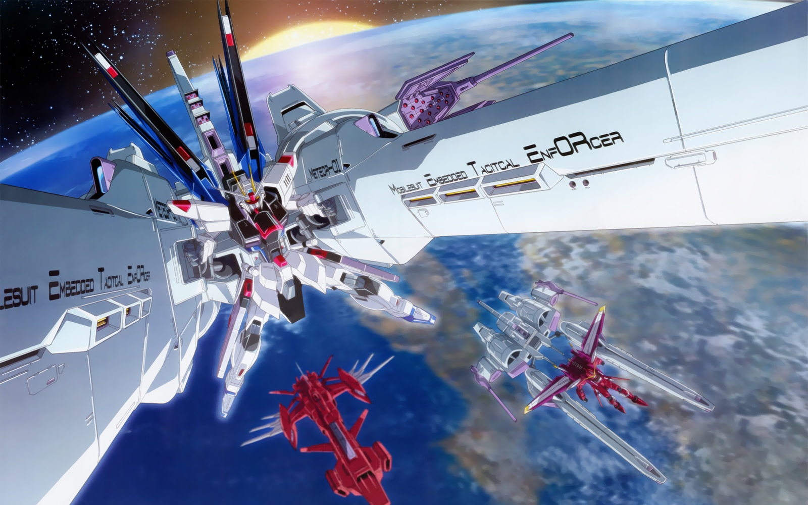 1600x1000 - Mobile Suit Gundam Seed Destiny Wallpapers 7