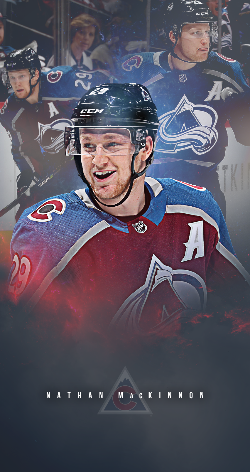852x1608 - Colorado Avalanche Wallpapers 12