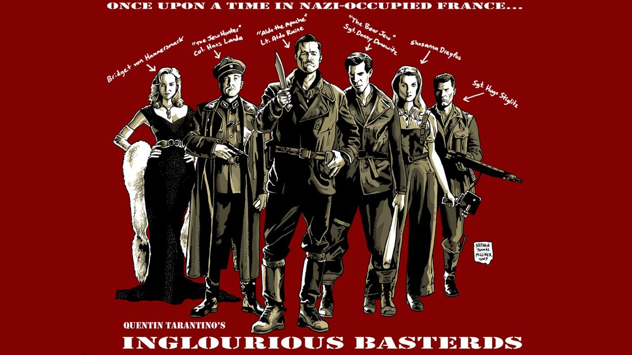 Inglourious Basterds Wallpapers 34 Images Dodowallpaper