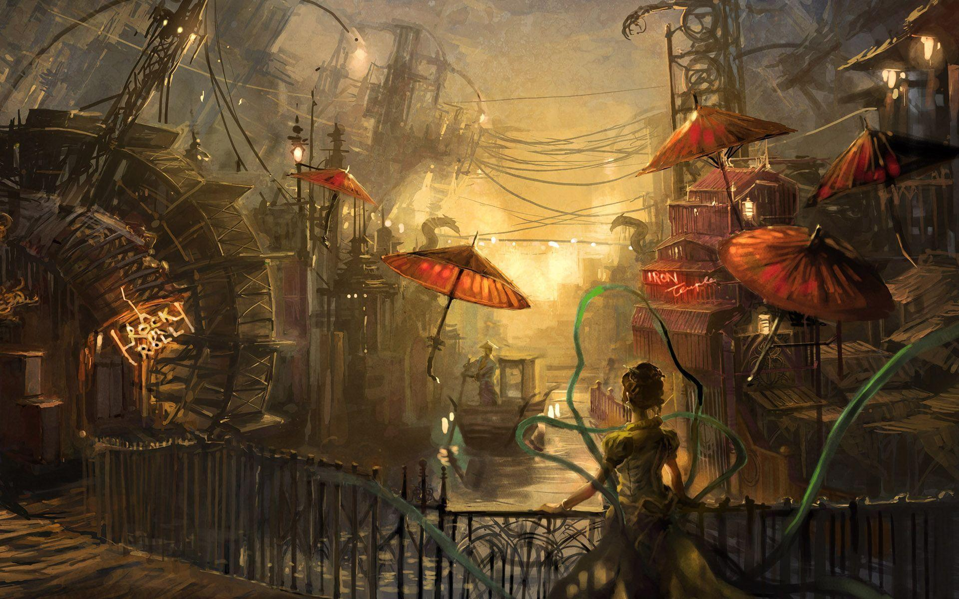 1920x1200 - Steampunk Wallpapers 6